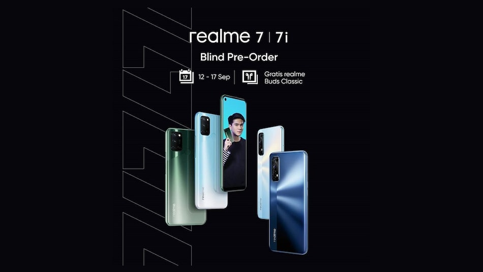 Realme 7i Camera Specifications Confirmed, Colour Options Teased Online