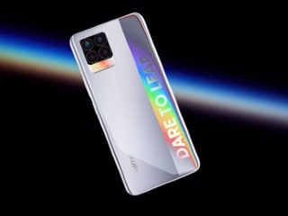 "Realme 8 5G Alleged Image Surfaces on Peruvian Certification Platform, Shows ""Dare to Leap"" Holographic Branding"