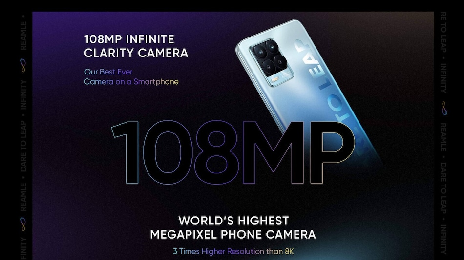 Realme 8 Series to Feature Realme UI 2.0 Out-of-the-Box, Super AMOLED Display, 50W Fast Charging