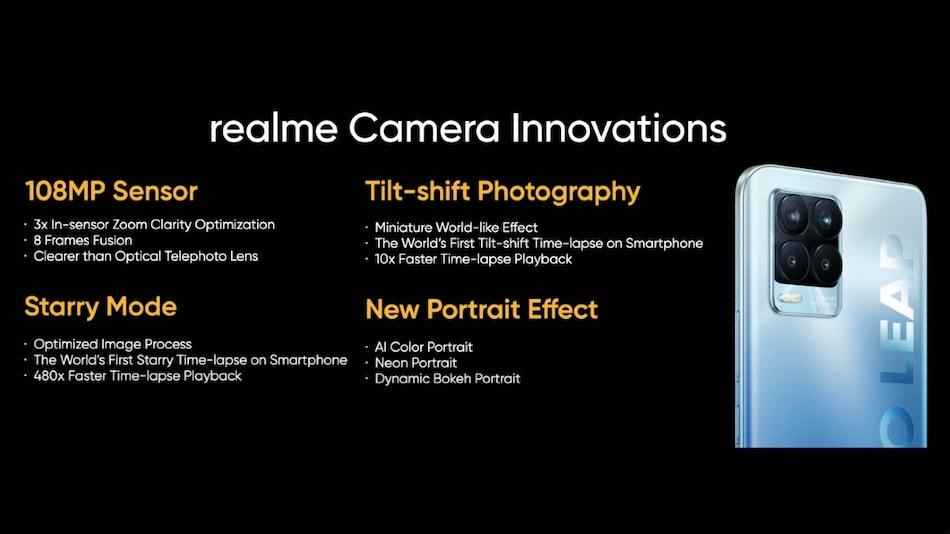 Realme 8 Pro to Feature 108-Megapixel Samsung HM2 Primary Camera, Company Reveals
