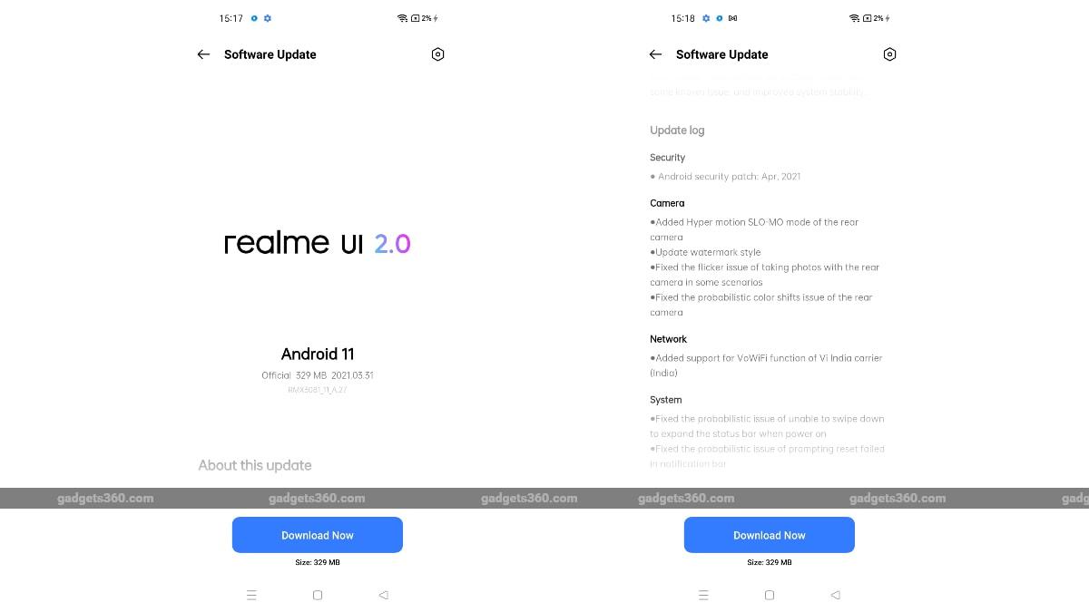 realme 8 pro update realme 8 pro