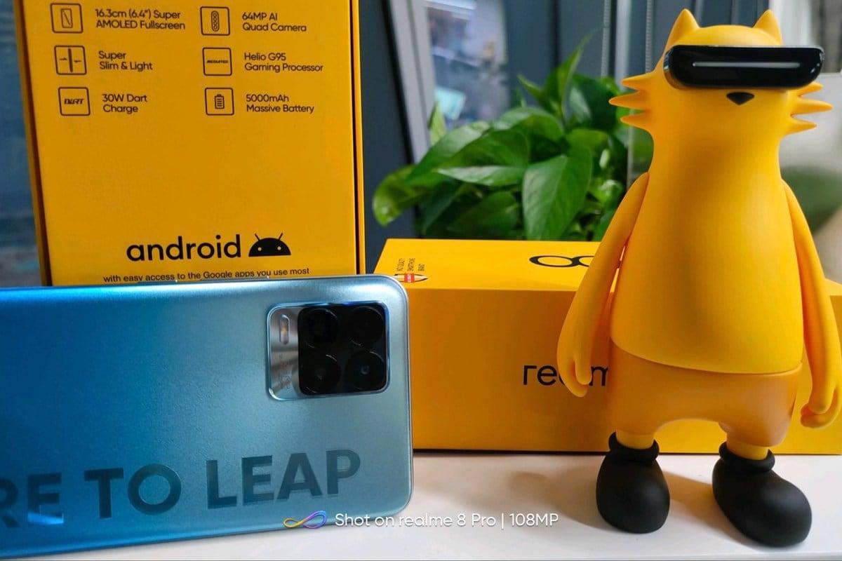 Realme 8 स्पेसिफिकेशन कंपनी के इंडिया चीफ माधव शेठ द्वारा छेड़ा गया