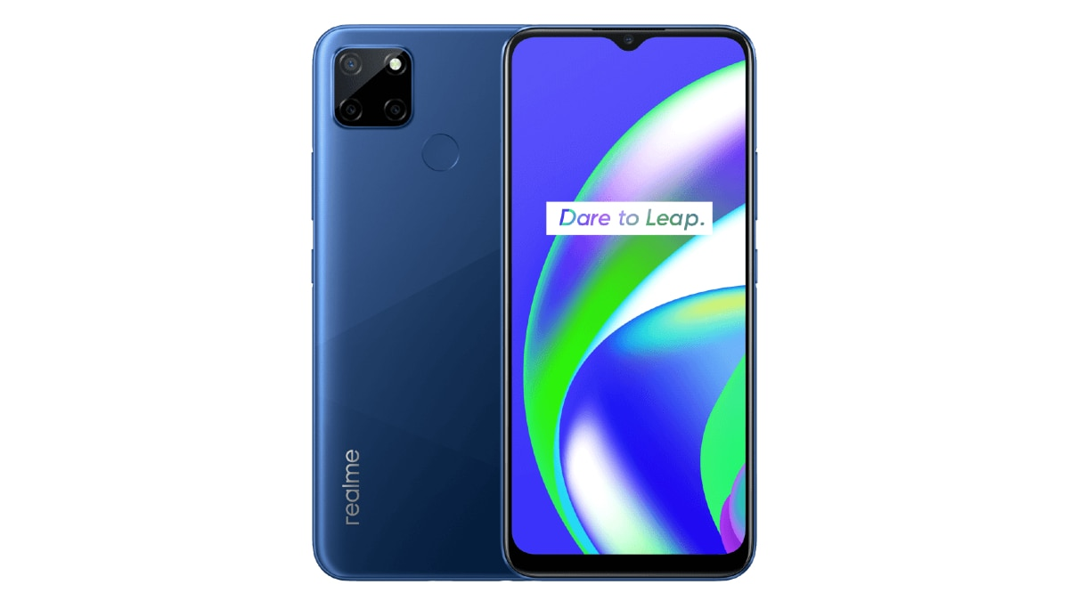 Realme C12 With Triple Rear Cameras, 6,000mAh Battery Launched