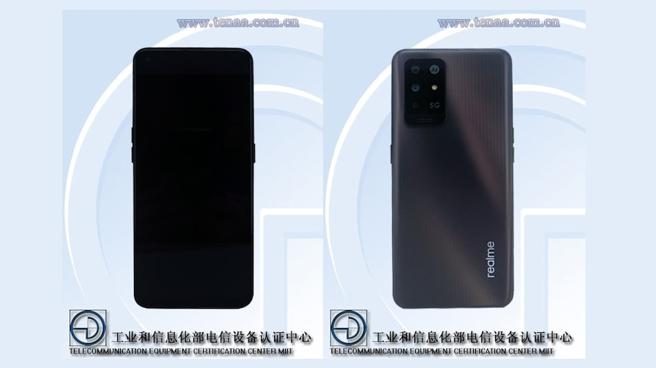 Realme RMX3333 Specifications, Images Surface Online via TENAA Listing
