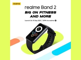 Realme Band 2 Launch Date Set for September 15: Report