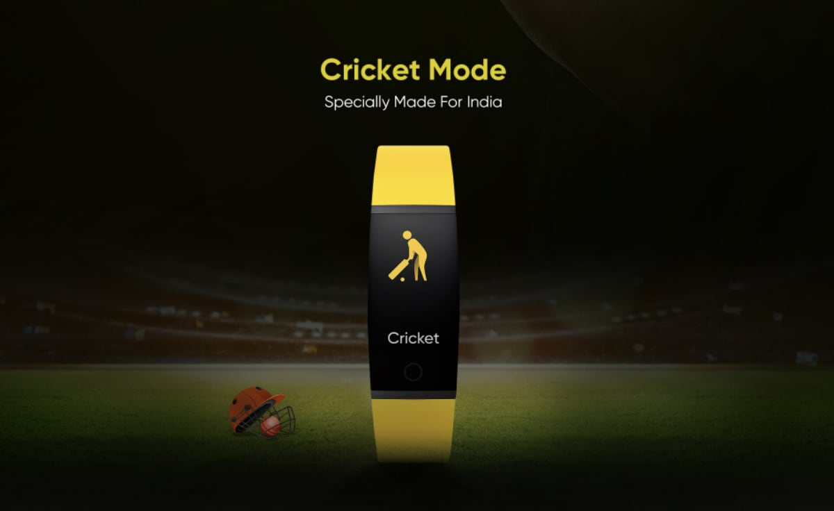 Realme Band Teased to Include Cricket Mode and Sleep Quality Monitor Ahead of Launch