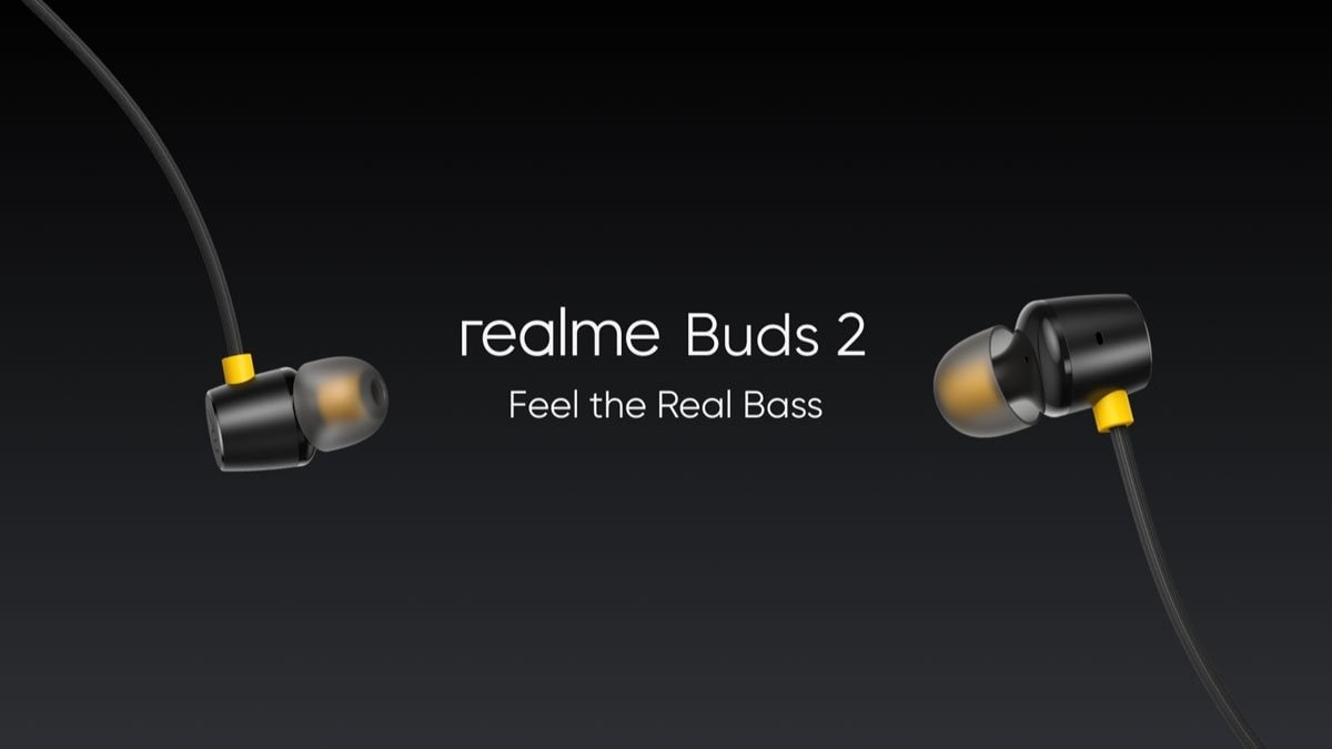 TechnicalLite-Realme Buds 2 Wired Headphones Launched in India at Rs. 599