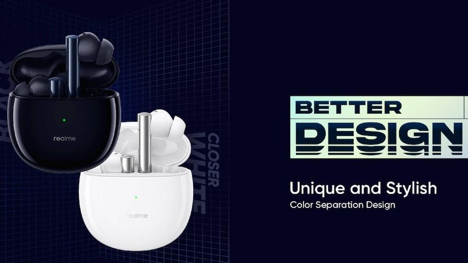 Realme Buds Air 2 में मिल सकती है 25 घंटे तक की बैटरी लाइफ, 24 फरवरी को होंगे लॉन्च