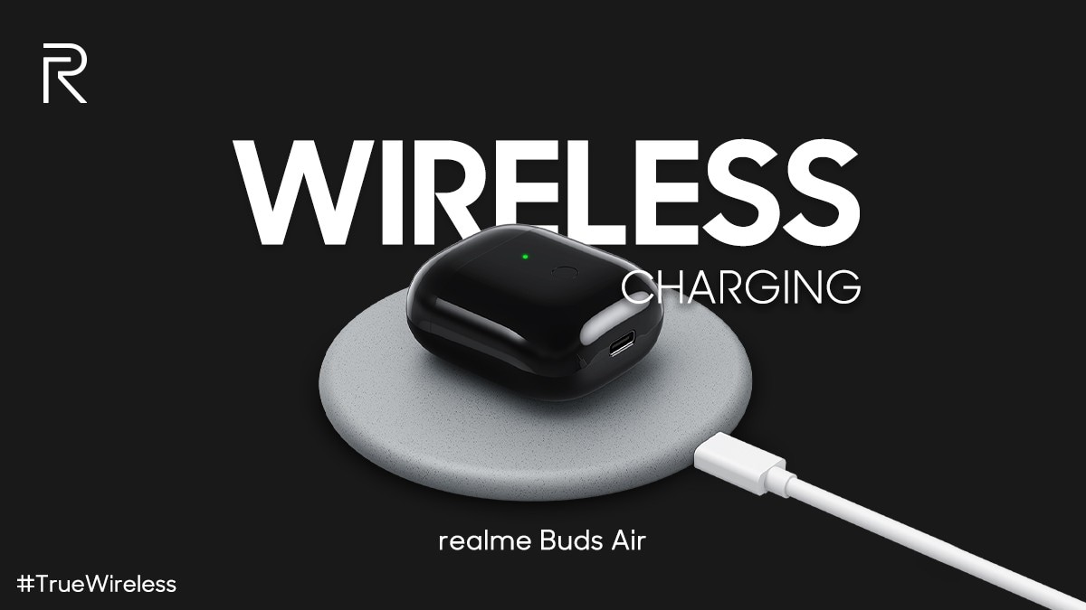 Realme Buds Air Confirmed to Support Wireless Charging by CEO Madhav Sheth
