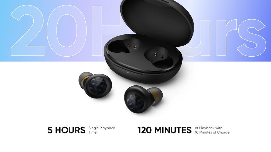 20 घंटों के बैटरी बैकअप के साथ लॉन्च हुए Realme Buds Q2 वायरलेस ईयरबड्स, जानें कीमत और फीचर्स