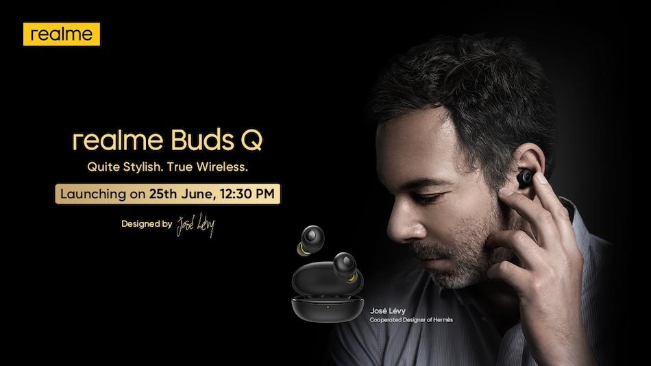 Realme Buds Q भारत में 25 जून को होगा लॉन्च, टीज़र ज़ारी