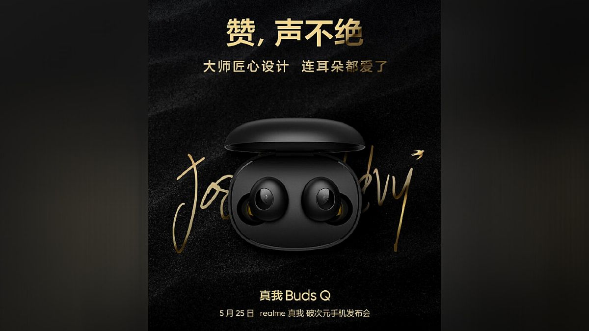 Realme Buds Q TWS Earbuds to Launch Along with 7 Realme Products on May 25