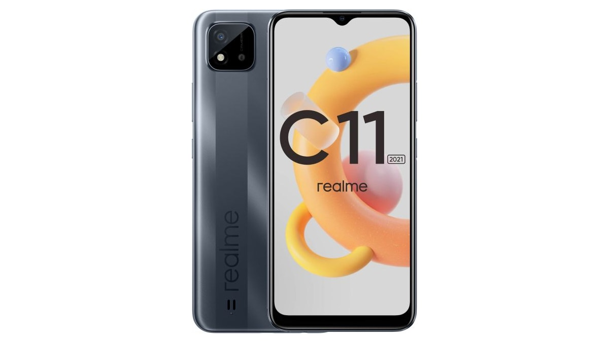 Realme C11 (2021) With Unisoc SoC, 8-Megapixel Rear Camera Launched