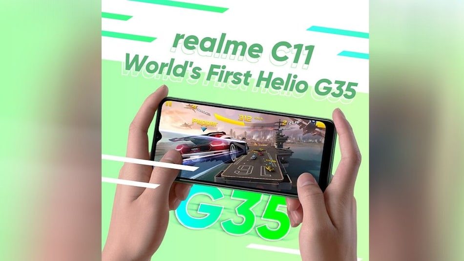 Realme C11 With MediaTek Helio G35 SoC to Launch on June 30, Company Reveals