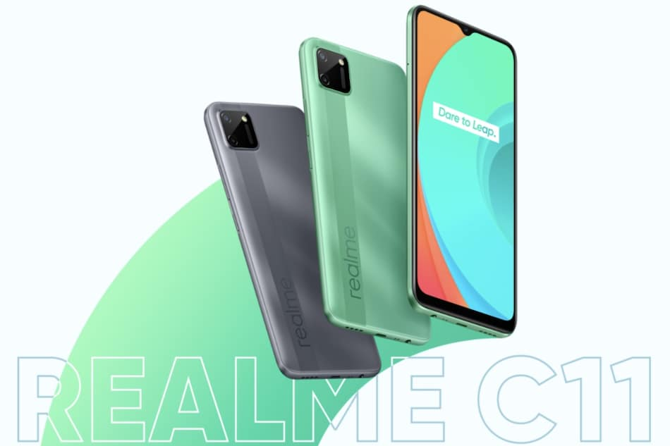 Realme C11 With MediaTek Helio G35 SoC, 5,000mAh Battery Launched in India: Price, Specifications