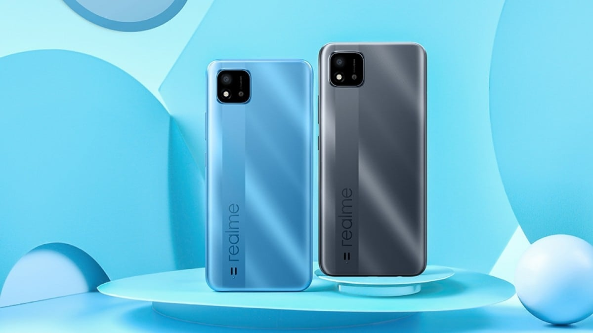 Realme C20 With Helio G35 SoC, 5,000mAh Battery Launched ...