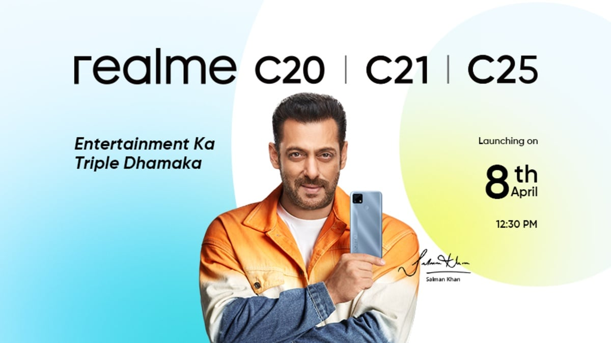 Realme C20, Realme C21, Realme C25 India Launch Set for April 8: Expected  Price, Specifications | Technology News