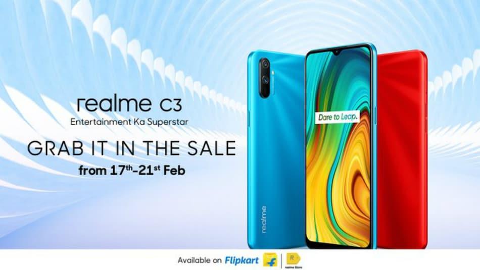 Realme C3 on Open Sale Till February 21 on Flipkart, Realme.com