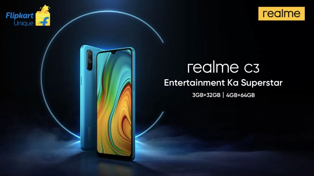 Realme C3 Launch in India Next Week: Specifications and Everything Else We Know So Far