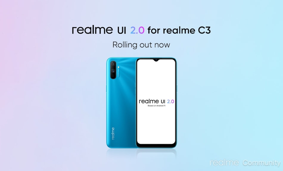Realme C3 Getting Android 11-Based Realme UI 2.0 Update in India