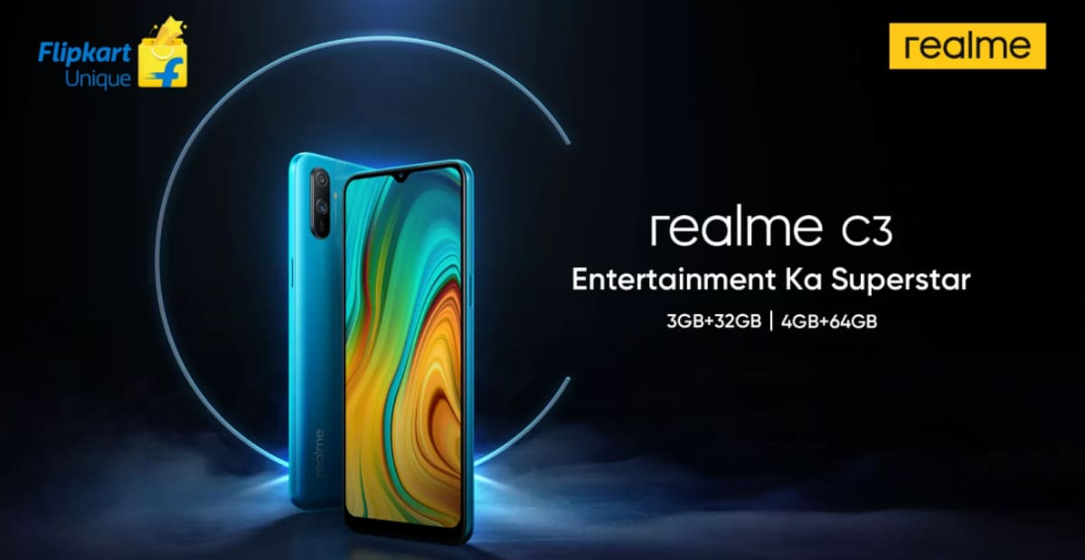 Realme C3 Design, Specifications Teased on Flipkart Ahead of Launch