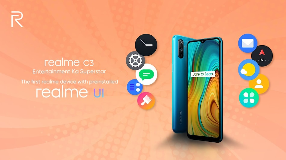 Realme C3 to Run Realme UI Out-of-the-Box, MediaTek Helio G70 SoC Confirmed