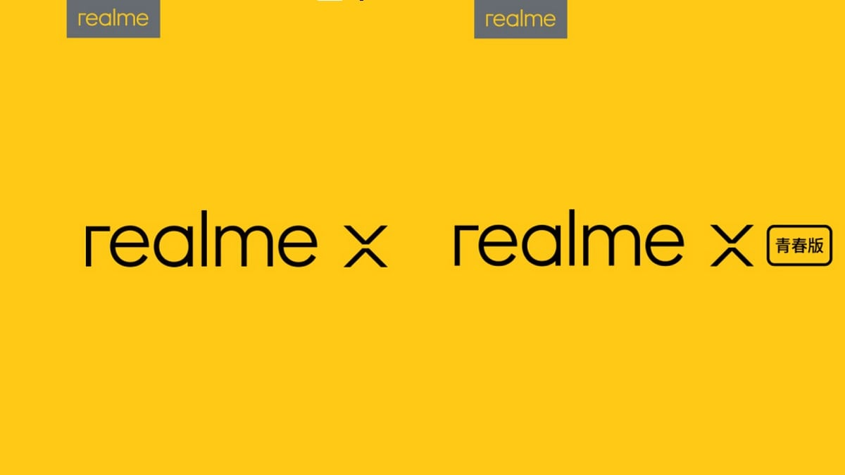 Realme X Confirmed to Launch on May 15 Alongside Realme X Youth Edition