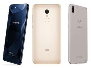 Realme 1 vs Redmi Note 5 vs Asus ZenFone Max Pro M1: Price in India, Specifications Compared