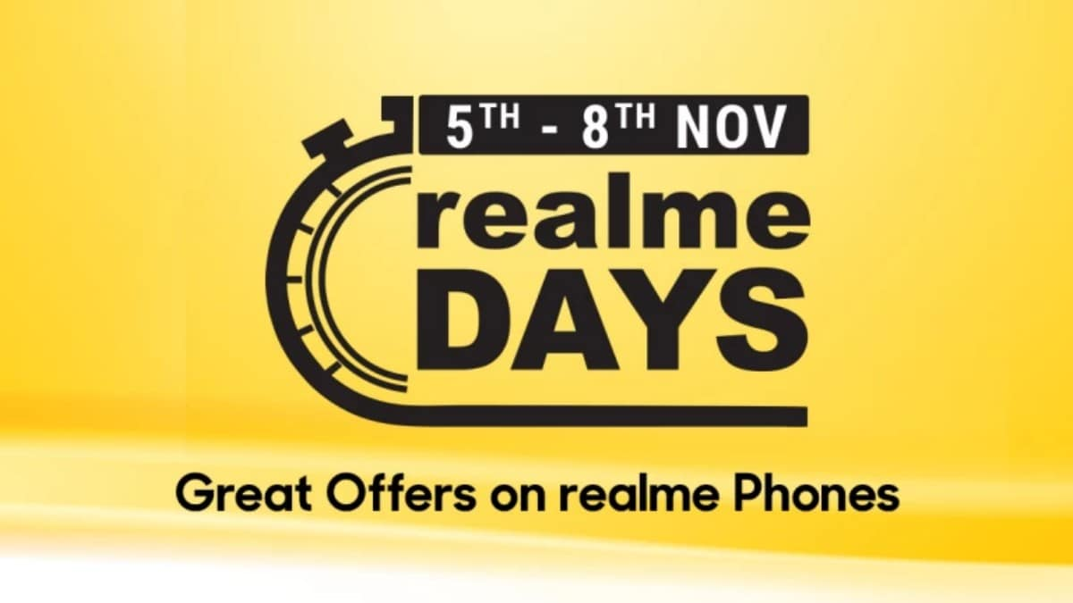 Realme Festive Days Sale on Flipkart Brings Discounts on Realme 5 Pro, Realme C2, and More