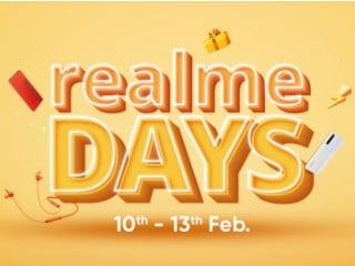 Realme Days Sale 2020 का आगाज़, Realme 5 Pro, X2 Pro समेत इन स्मार्टफोन पर छूट