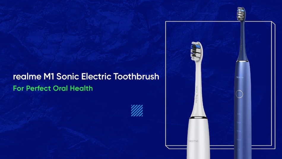 Realme M1 Sonic Electric Toothbrush With 90-Day Battery Life to Launch on September 3