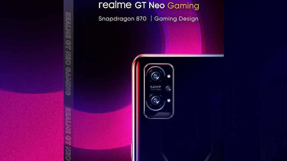 Realme GT Neo Gaming Price and Specifications Leak, Tipped to Launch Soon