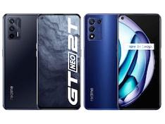 12GB तक रैम और ट्रिपल रियर कैमरों के साथ Realme GT Neo 2T और Realme Q3s स्मार्टफोन लॉन्च, जानें कीमत