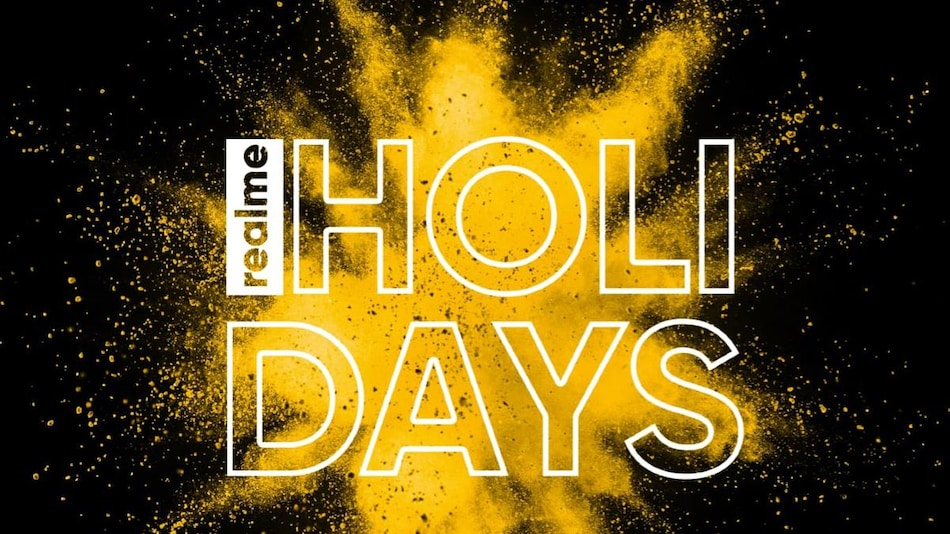 Realme Holi Days Sale Brings Discounts on Smartphones, Smart TVs, Earphones, and More