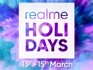 Realme U1, Realme 2 Pro to Receive Discounts During Realme 'Holi Days' Sale from Today