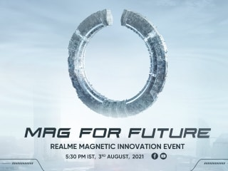Realme MagDart Magnetic Wireless Charger Teased to Launch in India on August 3