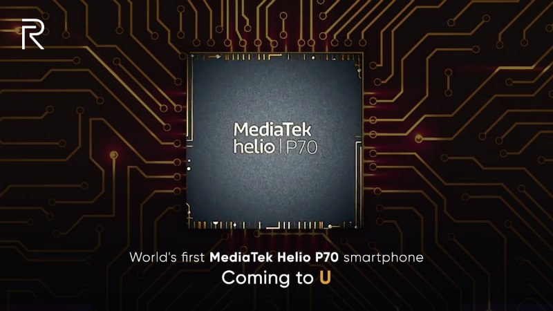 Realme MediaTek Helio P70 Smartphone to Launch Under New 'U' Series Soon