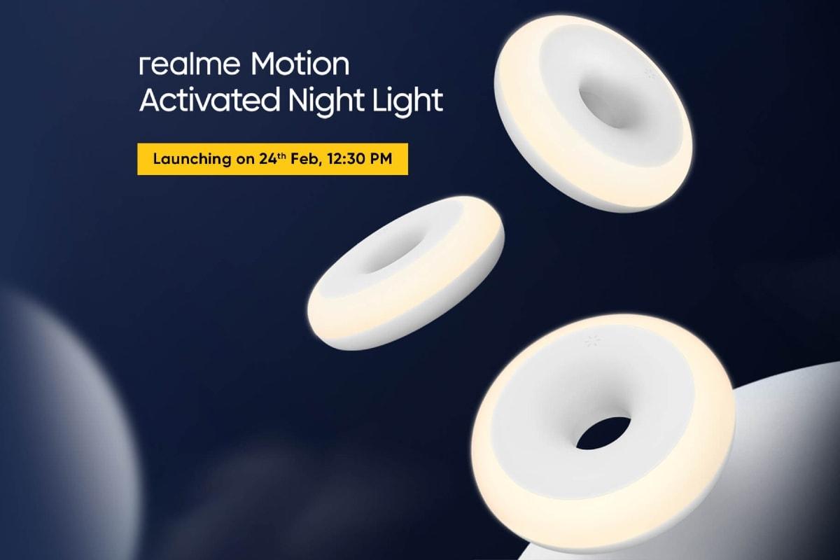 Realme Movement ने बुधवार को भारत में लॉन्च करने के लिए 365 दिन बैटरी लाइफ सेट के साथ नाइट लाइट सक्रिय किया