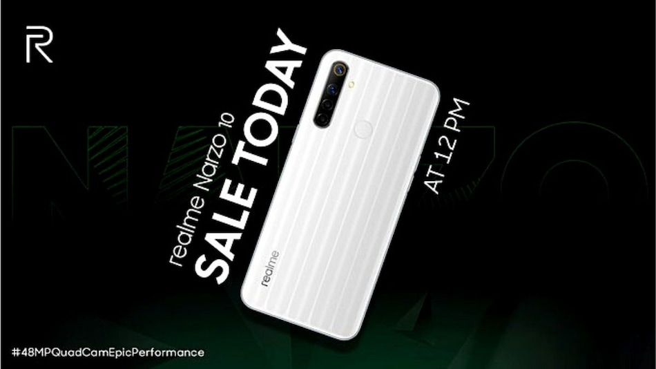 Realme Narzo 10 to Go on Sale Today at 12 Noon via Flipkart, Realme Site: Price in India, Offers