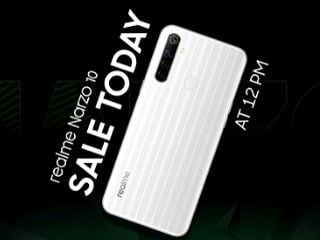 Realme Narzo 10 की सेल आज फ्लिपकार्ट और रियलमी वेबसाइट पर, जानें कीमत