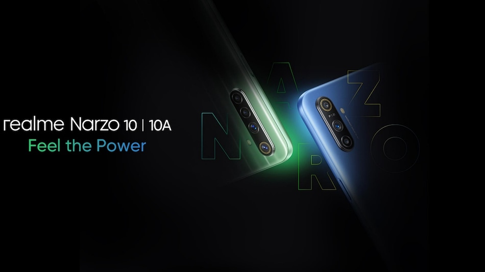 Realme Narzo 10, Narzo 10A Now Set to Launch in India on May 11
