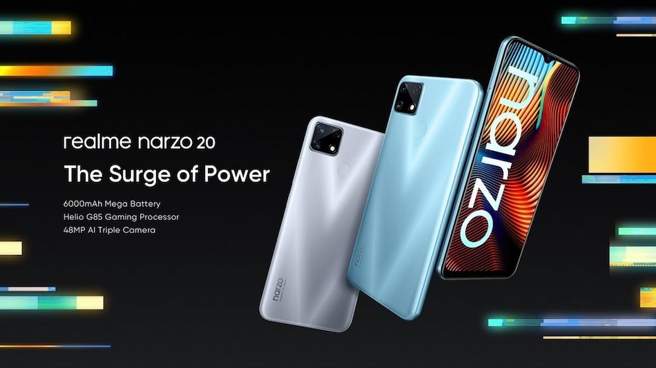 Realme Narzo 20, Narzo 20A और Narzo 20 Pro लॉन्च हुए भारत में, जानें दाम और स्पेसिफिकेशन
