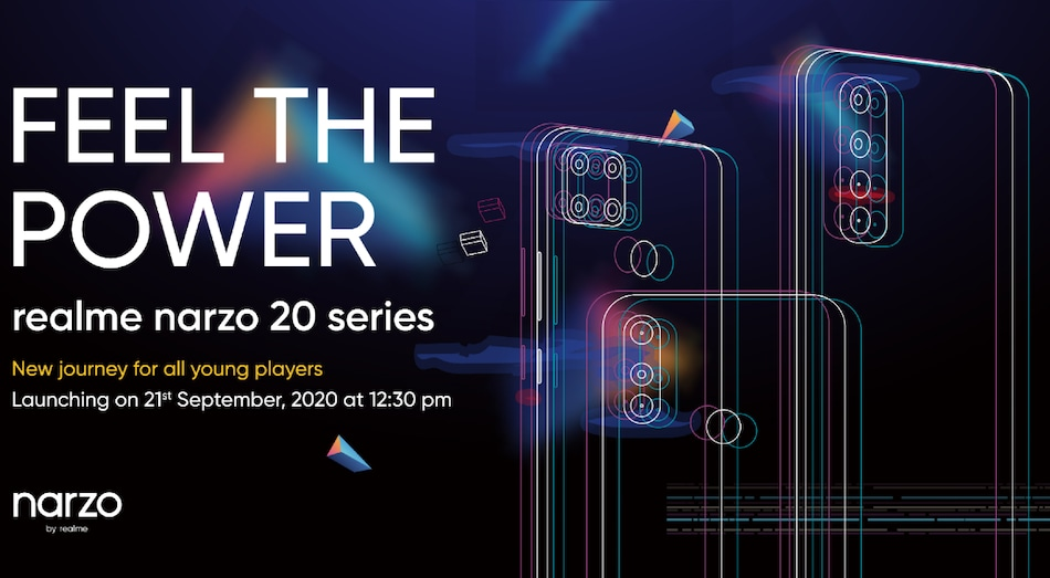 Realme Narzo 20 Tipped to Come With 6,000mAh Battery, Triple Rear Camera Setup
