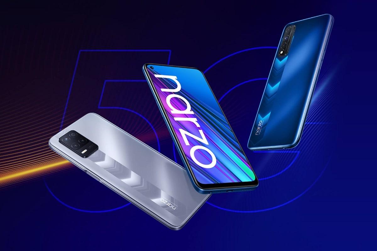 Realme Narzo 30 5G, Realme Narzo 30 With Triple Rear Cameras Launched in India