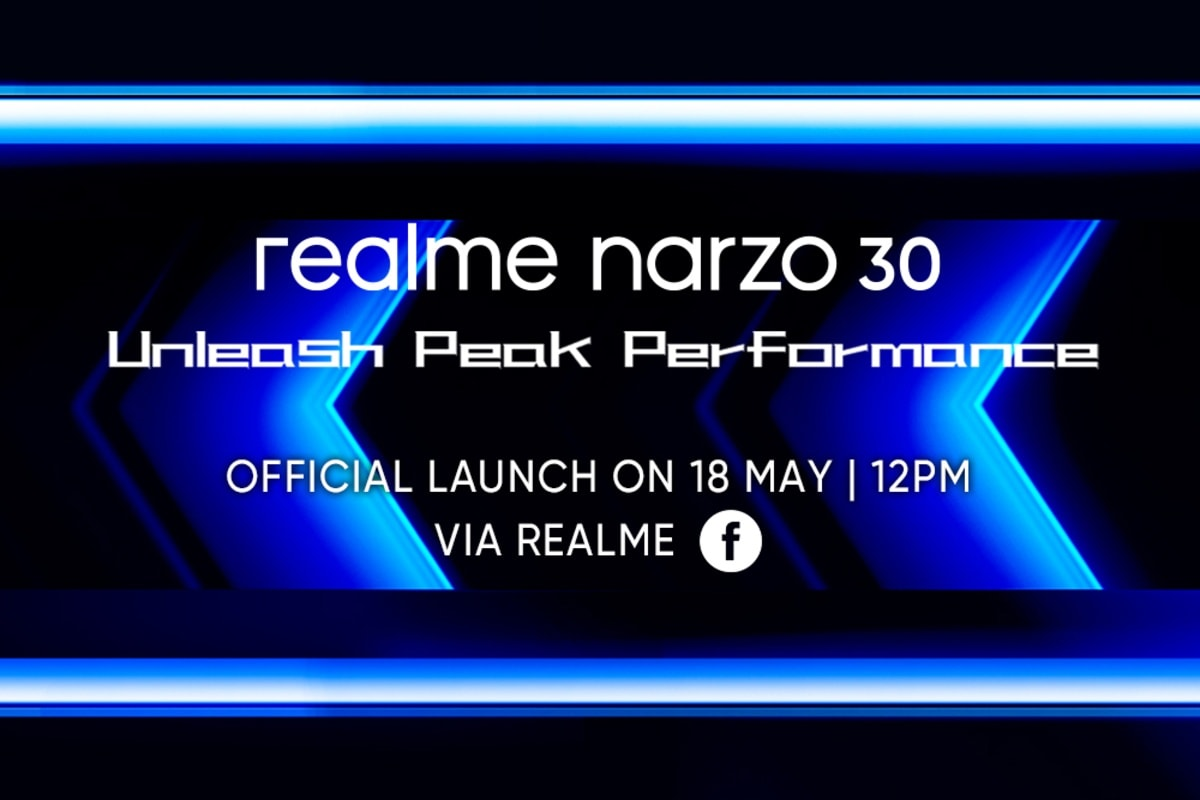 Realme Narzo 30 Launch Set for May 18, MediaTek Helio G95 SoC Confirmed