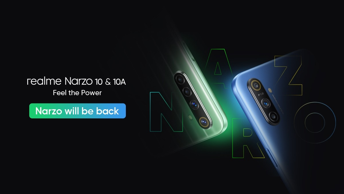 Realme Narzo 10, Narzo 10A Launch Postponed Due to Coronavirus Lockdown