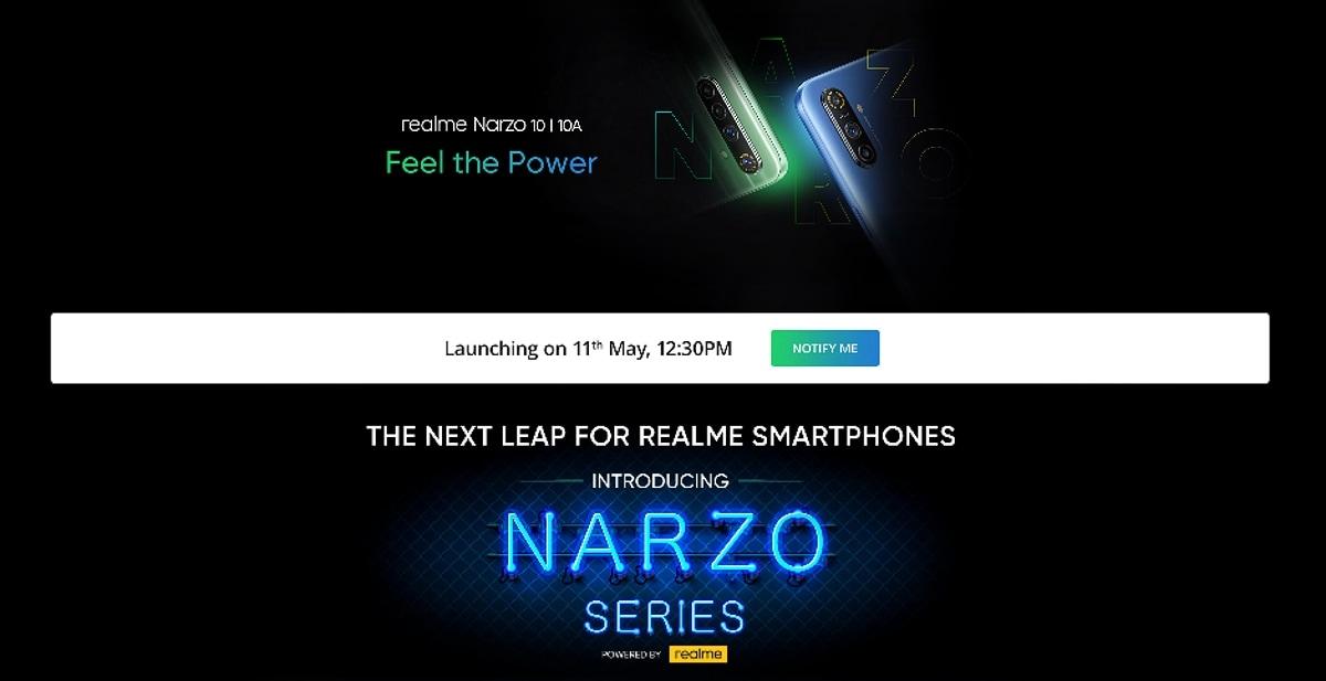 আজ Realme Narzo সিরিজ লঞ্চ অনলাইনে সরাসরি দেখবেন কীভাবে?