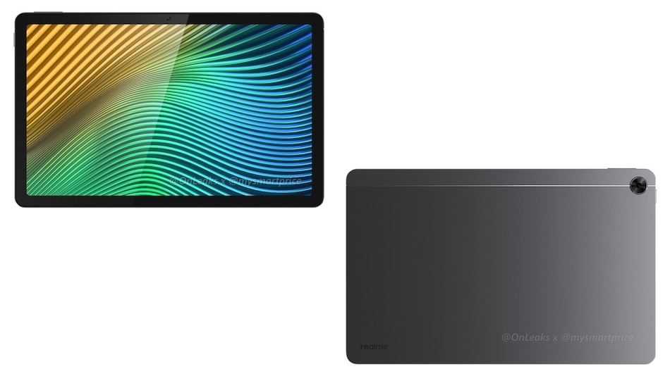 Realme Pad Specifications and Design Leaked, Renders Show Aluminium Unibody Finish, Built-In Stylus Holder