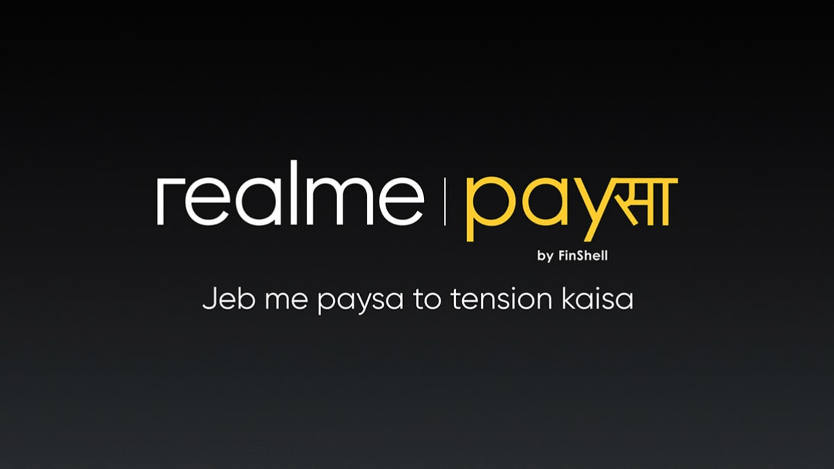 Realme PaySa Financial Services Platform Launched in India to Offer Loans to Individuals, SMEs