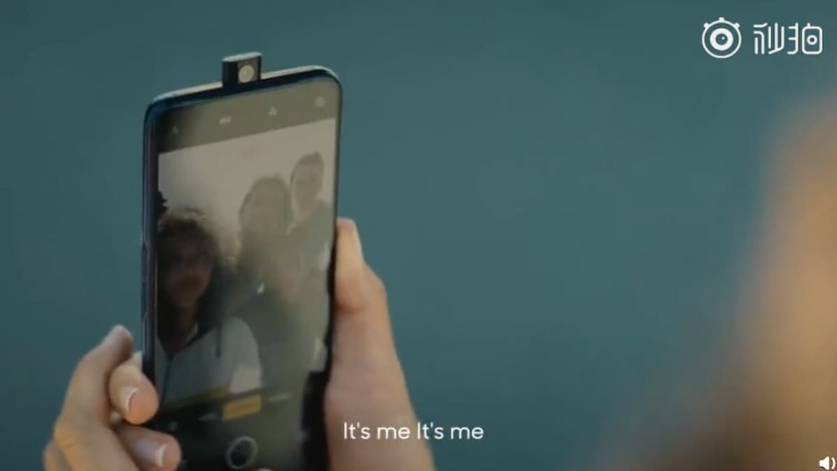 Realme Pop-Selfie Camera Smartphone Seen in Teaser Video With Notch-Less Display